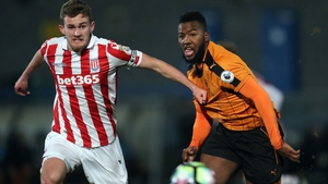 Lewis Banks swaps the red and white of Stoke for the red and white of Sligo
