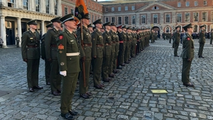 The ceremony is being held at Dublin Castle for the first time in the history of the State