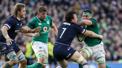 Six Nations: Scotland call up Fraser Brown and Murray McCallum