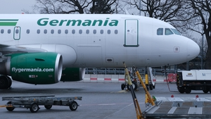 Germania carried more than four million passengers a year and had a fleet of 37 aircraft