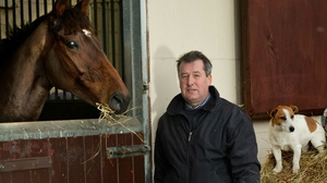 Pat Fahy looks likely to send Castlegrace Paddy to the Red Mills Chase