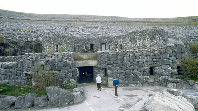 Entrance to the Aillwee Cave, County Clare (1988)