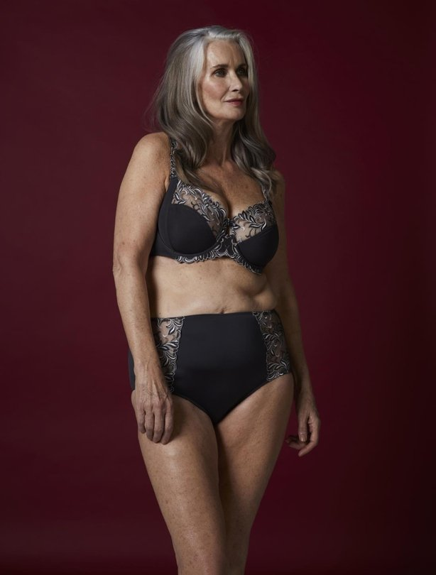 The 59 Year Old Lingerie Model Saying It S Ok Not To Be Perfect