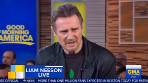 "Liam Neeson says ""I'm not racist"" during Good Morning America interview"
