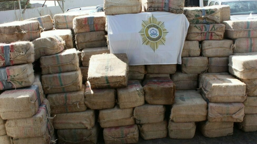 Officials believe a number of trans-national criminal groups, including Irish crime gangs, financed the record shipment of 9.5 tonnes of cocaine