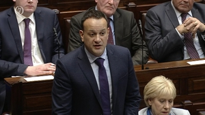 Leo Varadkar was speaking in the Dáil today
