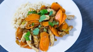Pork Carrot Stir Fry