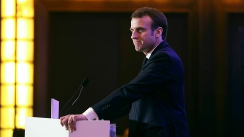 Emmanuel Macron's remarks honoured a campaign promise from his election in 2017