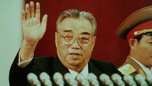 The former North Korean President, the late Kim Il-Sung in 1992. Paek Nam-Nyong's exceptional novel is set a few earlier under the Supreme Leader's rule.