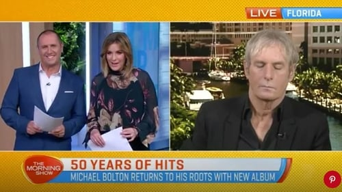 Michael Bolton Denies Falling Asleep During Live TV Interview