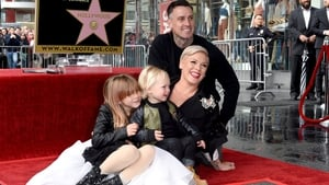 Pink and Carey Hart with their children