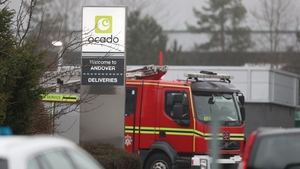 A fire destroyed Ocado's high-tech flagship warehouse in Andover last year