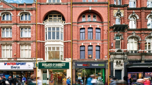 Numbers 16, 17 and 45 Henry Street are up for sale