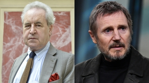 "John Banville said Liam Neeson ""was delivering a cautionary tale"""