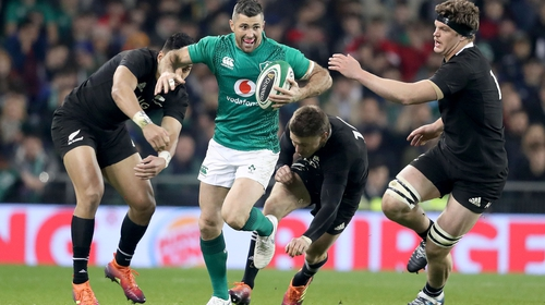 Ireland and New Zealand remain the top two ranked sides in the world