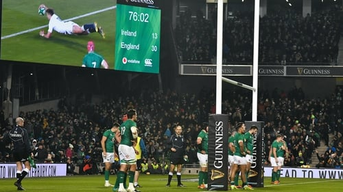 Ireland were totally outplayed by England