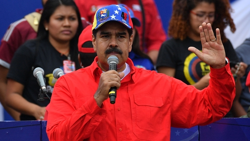 Nicolas Maduro is Venezuela's embattled president