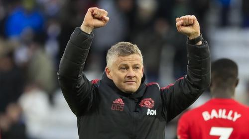 Manchester United have nine from ten games under Ole Gunnar Solskjaer