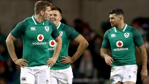 Chris Farrell (L) and Rob Kearney (R) have been drafted in for the Scotland clash