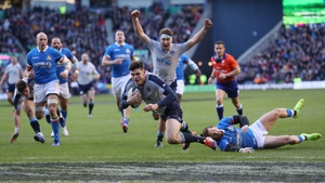 Blair Kinghorn has been omitted from the Scotland team to face Ireland days after his hat-trick heroics against Italy