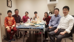 The Wei family in Dublin celebrate Chinese New Year