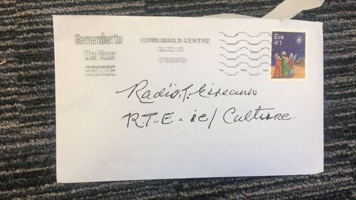 The best letter we've ever received, which landed earlier this week