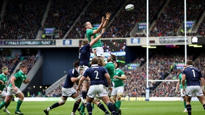 Action from the 2017 Murrayfield clash of Scotland and Ireland