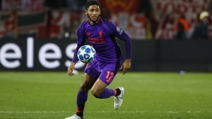 Joe Gomez has been out since early Deceber