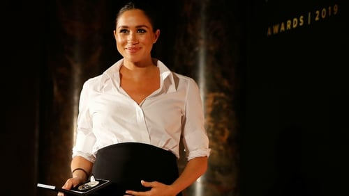 Meghan Markle continues to impress with her maternity wardrobe, says Katie Wright.
