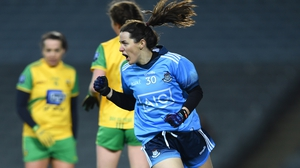 Lyndsey Davey remains fully motivated in a blue jersey