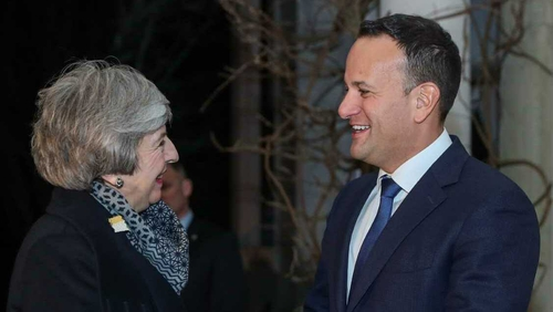 The two leaders discussed Brexit and Northern Ireland at Farmleigh