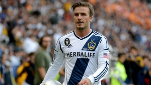 David Beckham was the first true global star to play in the American league
