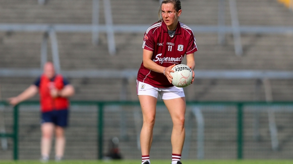 Tracey Leonard kicked six points for Galway