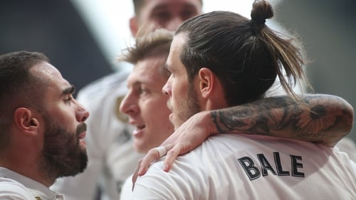 Gareth Bale hit a milestone for Real Madrid