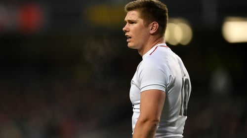 """Owen Farrell: """"You're always interested in the best and he's someone who has been at the top for a very long time."""""""