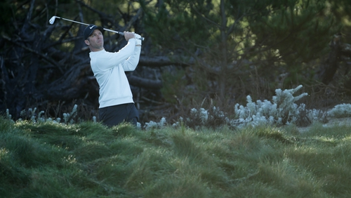 Paul Casey is three clear ahead of the final round