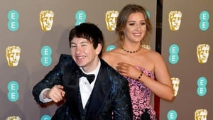 Barry Keoghan and partner Shona Guerin on the BAFTAs red carpet