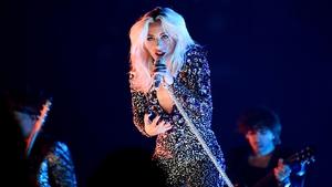 Lady Gaga: wowed a modest LA crowd