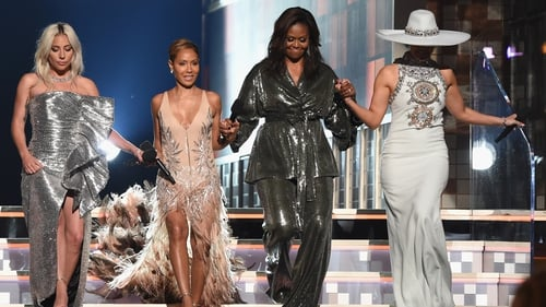Lady Gaga, Jada Pinkett-Smith, Michelle Obama, Jennifer Lopez
