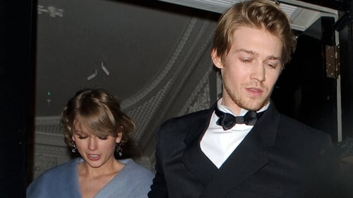 Taylor Swift misses Grammys to support boyfriend Joe Alwyn at Baftas