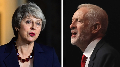 Theresa May rejected some of the conditions outlined by Jeremy Corbyn