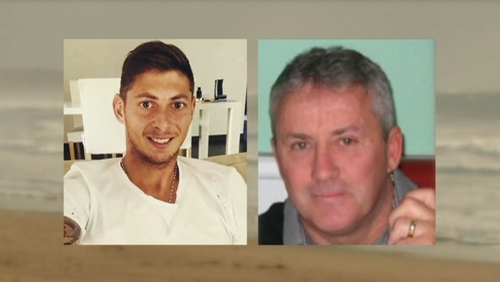 The plane carrying Emiliano Sala and David Ibbotson crashed in the English Channel last month