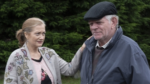 Frances with Cóilí Jakie - he will not go to court . .