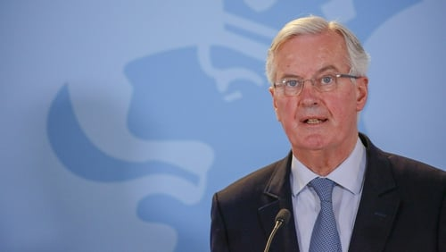 Michel Barnier said time was 'extremely short' to conclude a Brexit deal