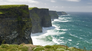 The Cliffs of Moher in Co Clare is one of the country's favourite tourist attractions