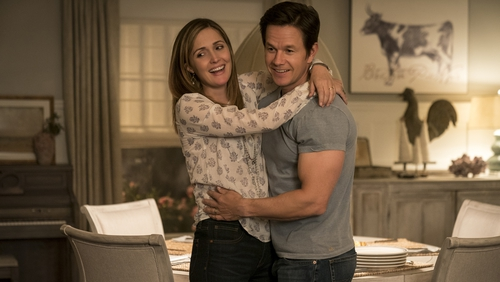 Mark Wahlberg and Rose Byrne and Instant Family