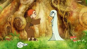 A scene from Cartoon Saloon's The Secret Of Kells