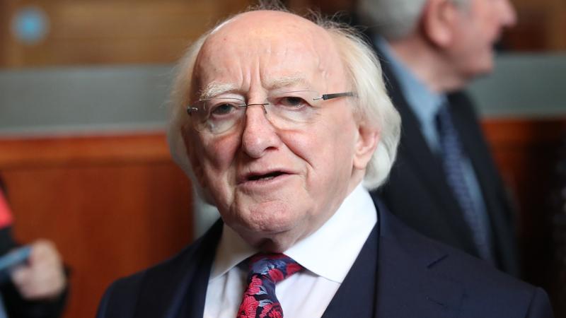 An tUachtarán Michael D Higgins