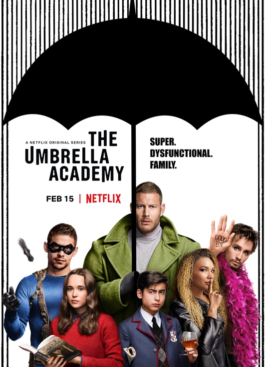 "TV preview:  ""The Umbrella Academy"" on Netflix"