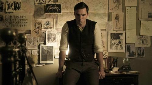Nicholas Hoult as Tolkien